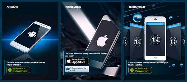 1xbet APP for iOS